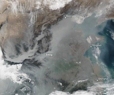 Smog widziany z orbity