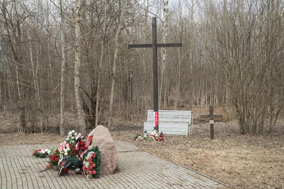 Smoleńsk, miejsce katastrofy polskiego Tu-154M /Wojciech Pacewicz /PAP
