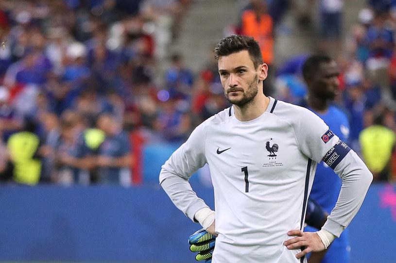 Smutny Hugo Lloris po przegranym finale Euro 2016 /AFP