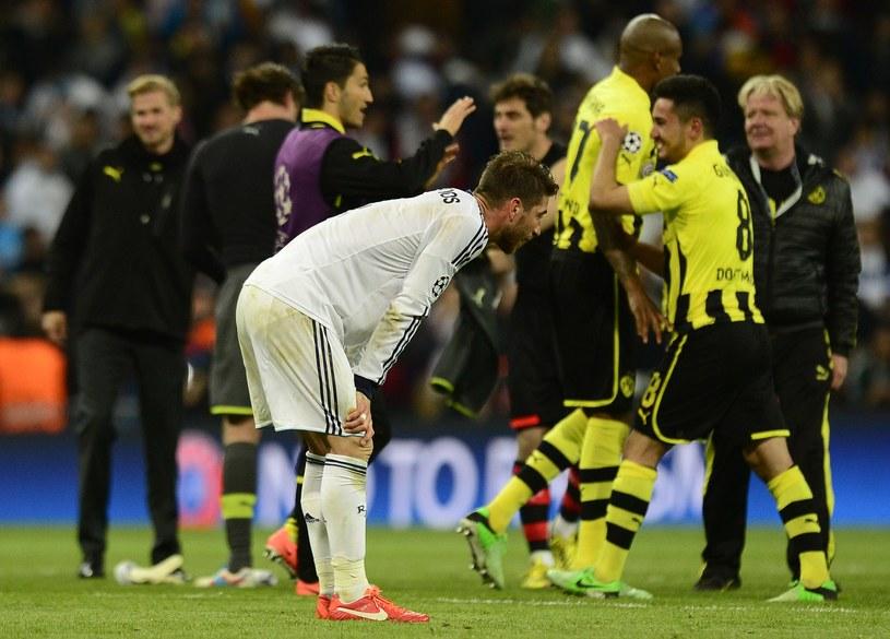 Smutny Sergio Ramos po meczu /AFP