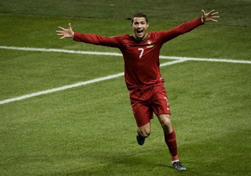 Snajper reprezentacji Portugalii - Cristiano Ronaldo /AFP