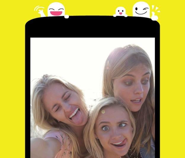 """""""Snap"""" stał się jedną z ulubionych aplikacji ludzi poniżej 25. roku życia /materiały prasowe"""