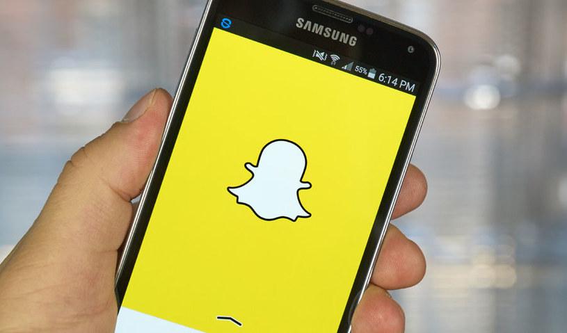 Snapchat otrzymał nową funkcję /123RF/PICSEL
