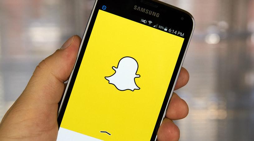 Snapchat zyskuje coraz większą popularność /123RF/PICSEL