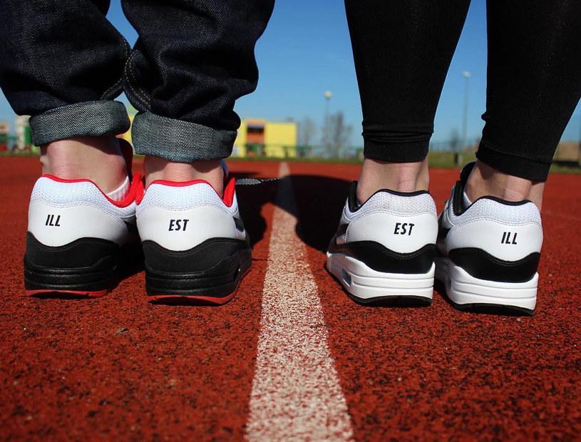 Sneakerhead couple goals. Narzeczona Gracjana też złapała bakcyla... /The Illest /archiwum prywatne