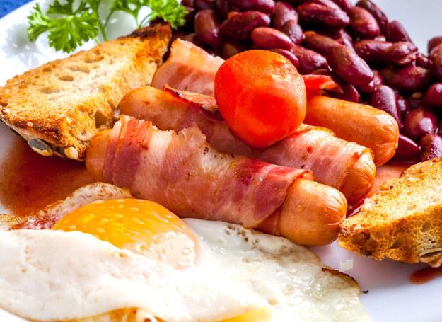 Śniadanie angielskie to prawdziwe wyzwanie... /123RF/PICSEL