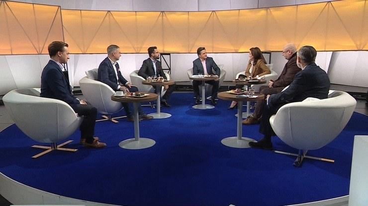 """""""Śniadanie Bogdana Rymanowskiego w Polsat News i Interii"""" /Polsat News /"""