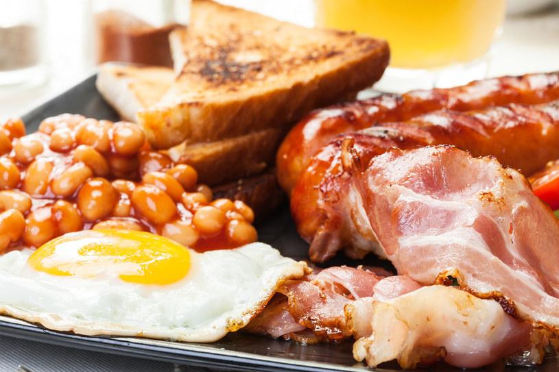 Śniadanie po angielsku /123/RF PICSEL /123RF/PICSEL