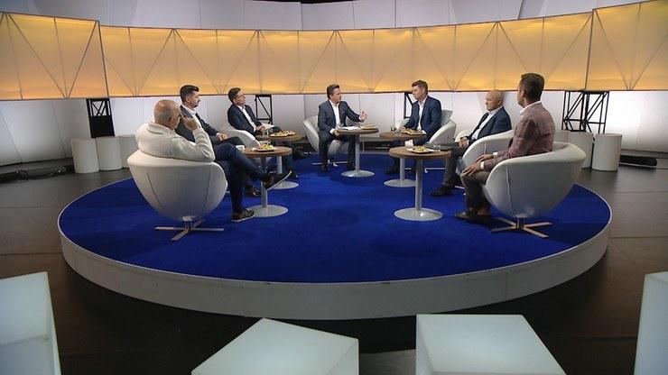 """""""Śniadanie Rymanowskiego w Polsat News i Interii"""" /Polsat News"""