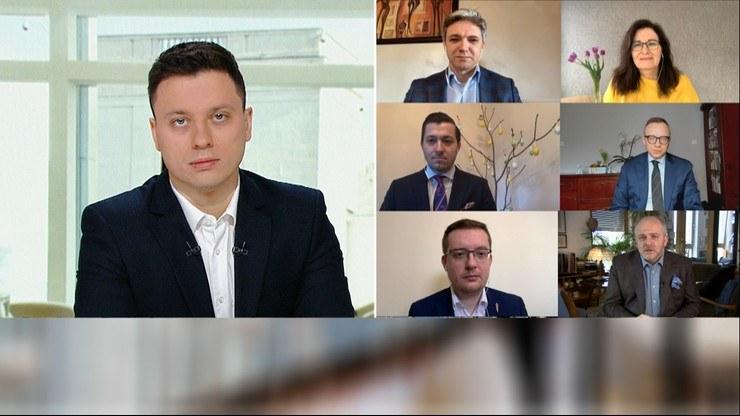 """""""Śniadanie w Polsat News i Interii"""" /Polsat News"""