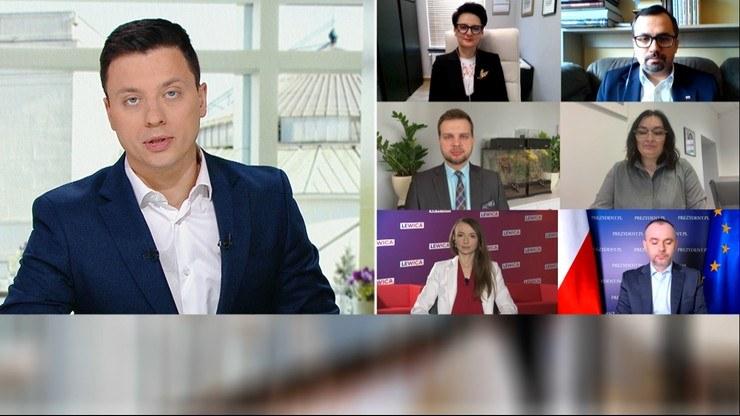 Śniadanie w Polsat News i Interii /Polsat News