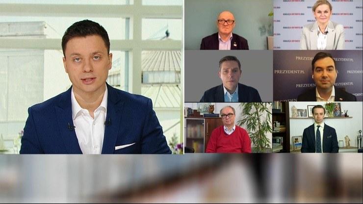 """""""Śniadanie w Polsat News"""" /Polsat News"""