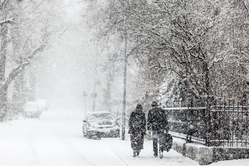 Śnieg może pojawić się szczególnie na północy kraju /Karolina Misztal /Reporter
