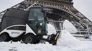 Śnieg sparaliżował Paryż
