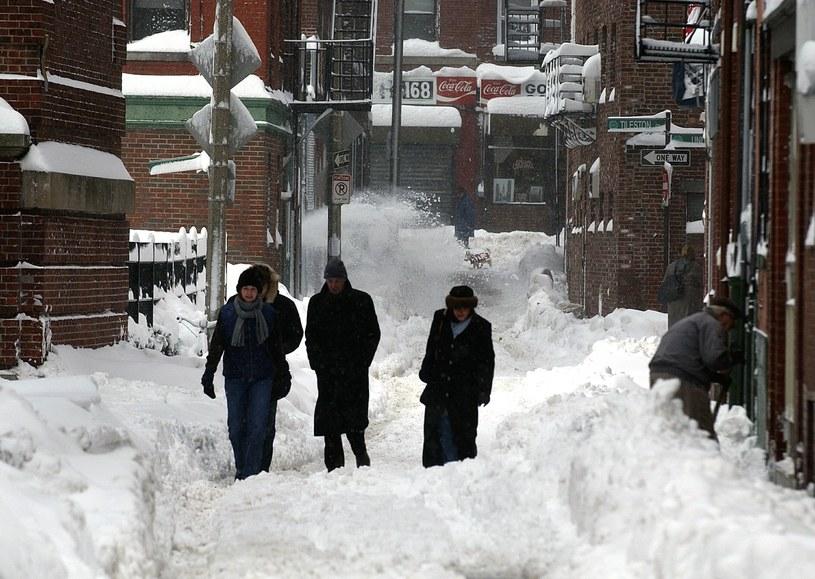 Śnieg w Bostonie (arch.) /East News