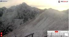 Śnieg w Tatrach. Trudne warunki na szlakach