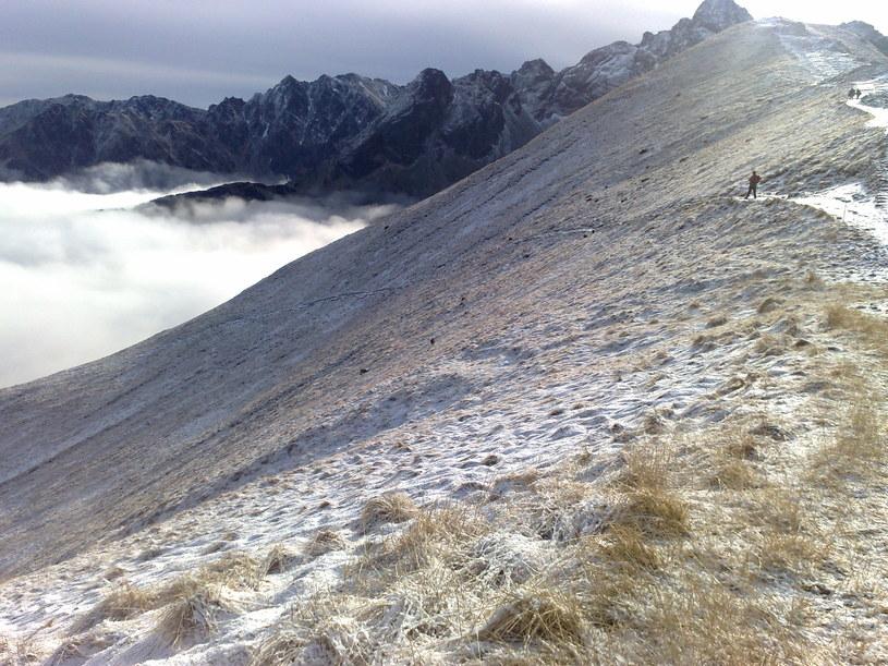 Śnieg w Tatrach /INTERIA.PL