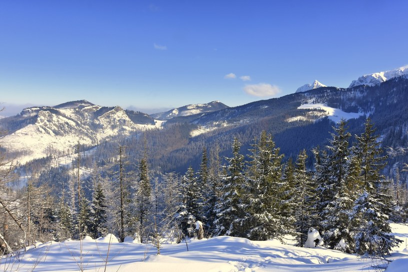 Śnieg w Tatrach /Albin Marciniak /East News