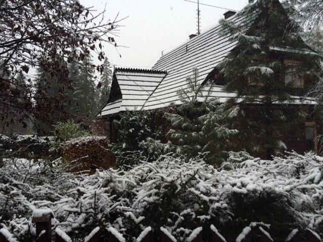 Śnieg w Zakopanem /Maciej Pałahicki /RMF FM