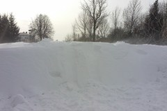 Śnieg zasypał drogi i domy [WASZE ZDJĘCIA]