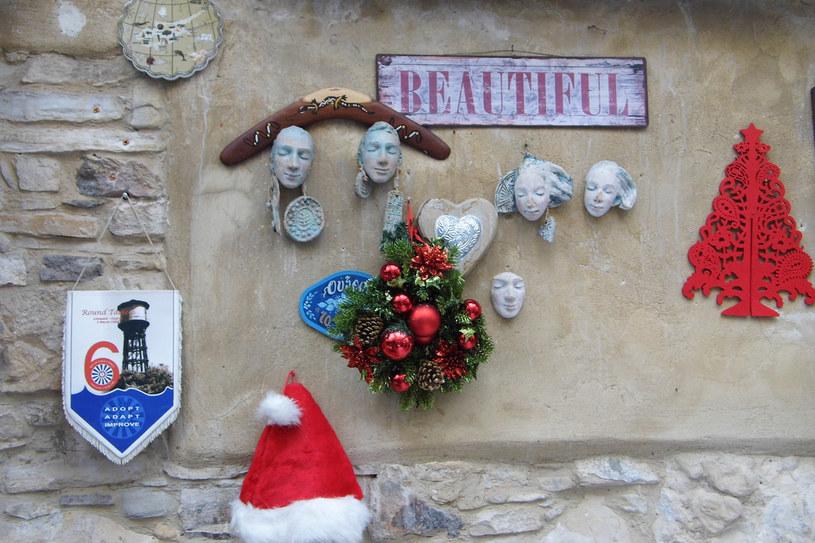 Śniegu nie ma, ale dekoracje owszem /INTERIA.PL
