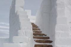 Śnieżne miasteczko w Zakopanem