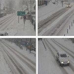 Śnieżny poranek na południu Polski