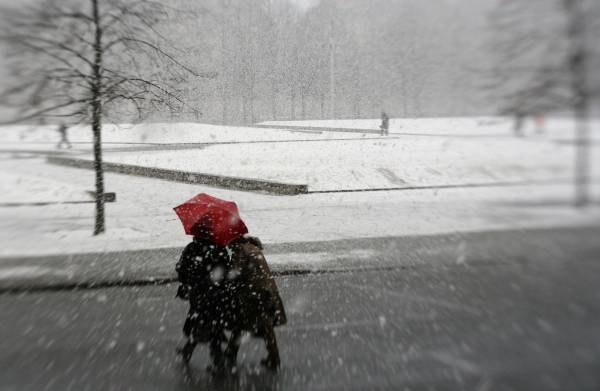 Śnieżyce i wichury wywołały poważne zakłócenia /AFP