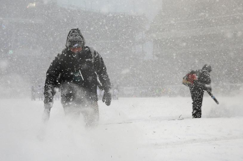 Śnieżyce zaatakowały USA /AFP