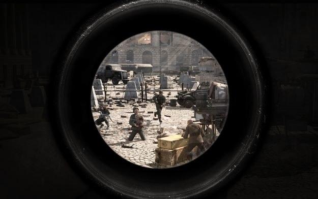 Sniper Elite V2 - motyw graficzny /materiały prasowe