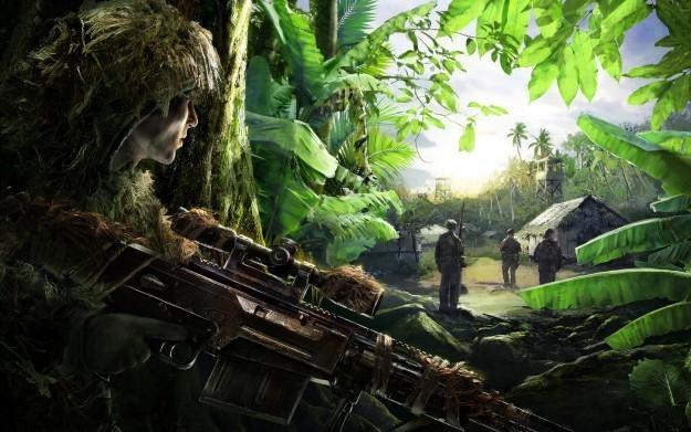 Sniper: Ghost Warrior - motyw graficzny /Informacja prasowa