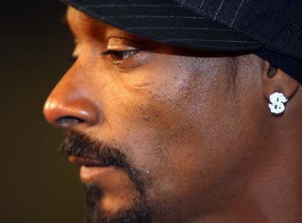 """Snoop Dogg czyli raper """"zły"""" /arch. AFP"""