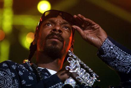 Snoop Dogg: Dociekliwy czy szalony? /arch. AFP