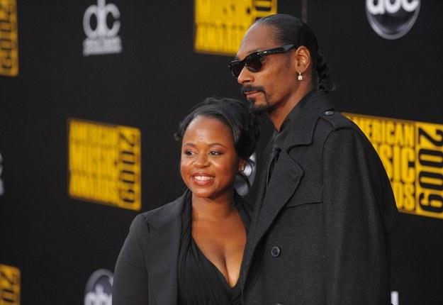 Snoop Dogg z żoną. Mieli się rozwodzić, dziś są szczęśliwi - fot. Jason Merritt /Getty Images/Flash Press Media