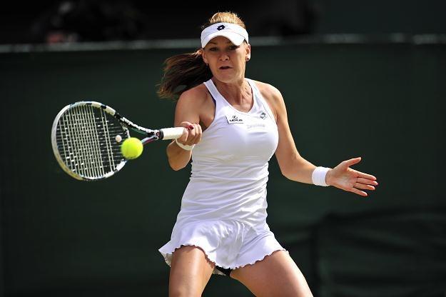 Sobotni finał Wimbledonu z Agnieszką Radwańską w Polsacie Sport śledziło 1 mln 125 tys. widzów /AFP