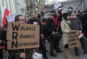 Socjaliści na ulicach Warszawy //PAP