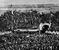 Socjalizm, manifestacja w Béziers, 30 IV 1905 /Encyklopedia Internautica