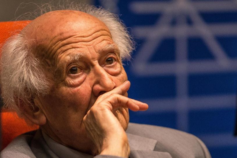 Socjolog, filozof i eseista - profesor Zygmunt Bauman /Maciej Kulczyński /PAP