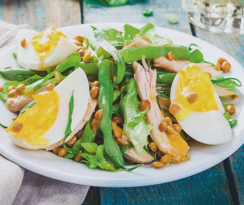 Soczewica z jajkiem /Naj