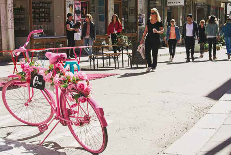 Södermalm jest najbardziej hipsterską dzielnicą miasta, fot. Katarzyna Tubylewicz /materiały prasowe