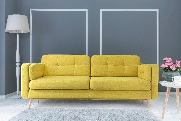 Sofa Cornet, Black Red White /materiały promocyjne