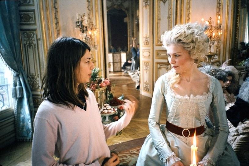 "Sofia Coppola i Kirsten Dunst na planie filmu ""Maria Antonina"" /Everett Collection /East News"
