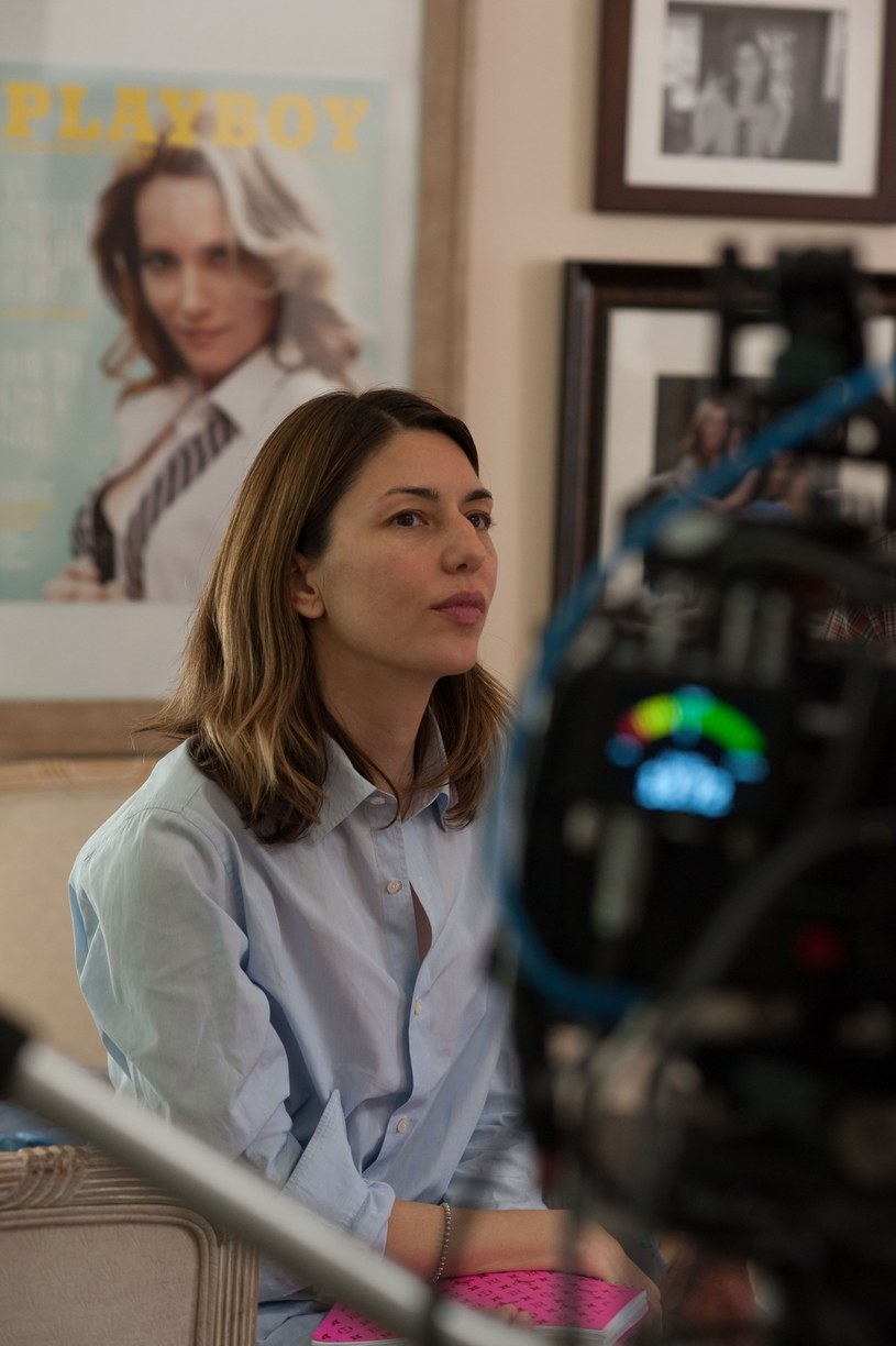 "Sofia Coppola na planie filmu ""Bling Ring"" /Collection Christophel /East News"