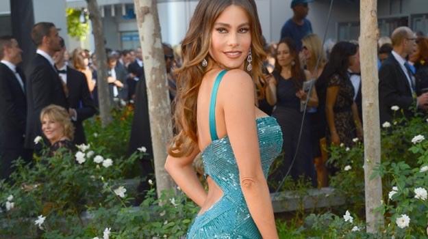 """Sofia Vergara w całkiem seksownej """"zbroi"""" - fot. Frazer Harrison /Getty Images/Flash Press Media"""