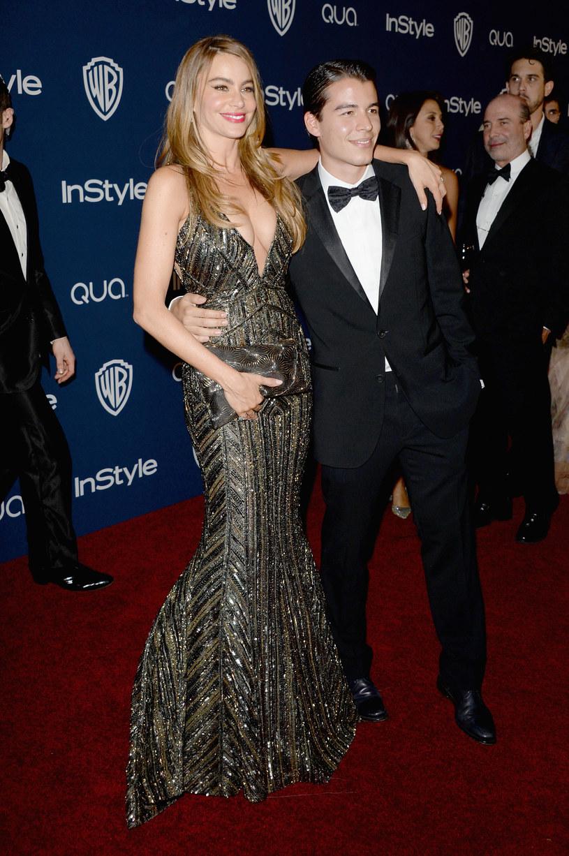 Sofia Vergara z synem /Jason Merritt /Getty Images