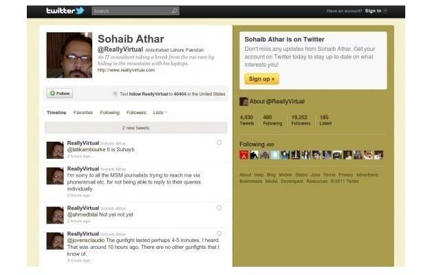 Sohaib Athar, świadek ataku na bin Ladena /kopalniawiedzy.pl