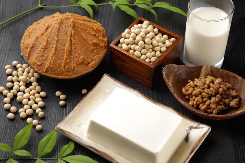 Soja i produkty sojowe to dobre źródło fitoestrogenów /123RF/PICSEL