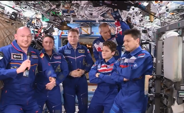 Sojuz bezpiecznie wylądował w Kazachstanie