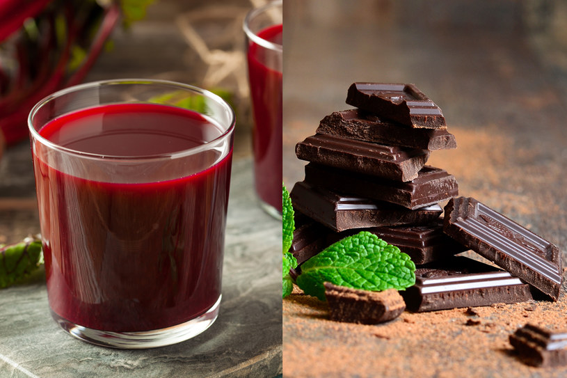 Sok z buraka i czekolada pomogą naturalnie obniżyć ciśnienie /123RF/PICSEL