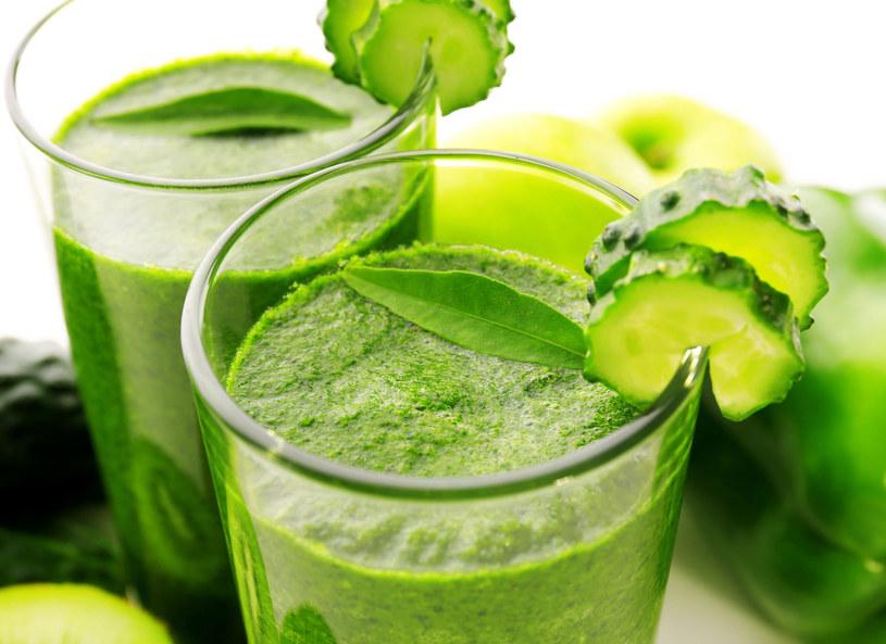 Soki z zielonych warzyw są bogate w chlorofil /Picsel /123RF/PICSEL